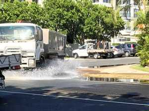 Wild surf, high tides to close roads this morning