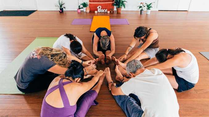 WELL AND GOOD: A yoga class with Linda Nugent.