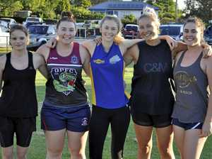 Girls glad to be back in Coolaroo colours