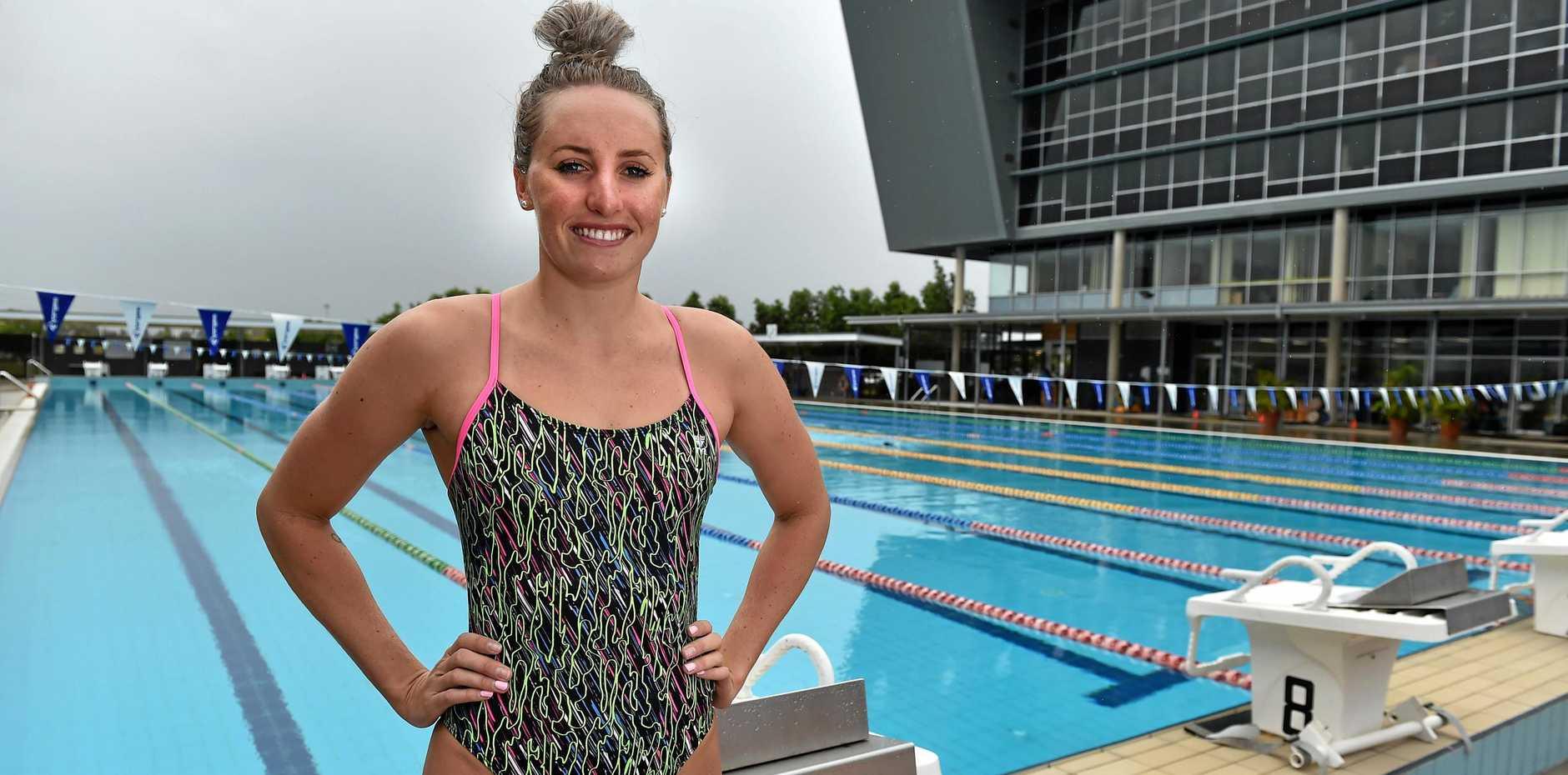 Australian swimmer Taylor McKeown.