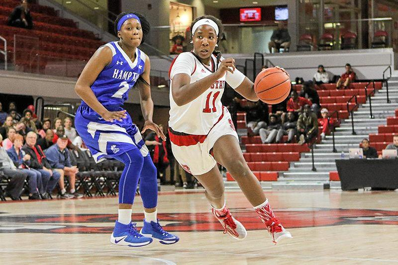 POWER PACKED: Jennifer Mathurin in action for North Carolina.