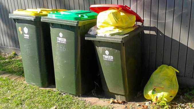The new Tweed Shire Council rubbish system has reduced the amount of waste being disposed incorrectly.