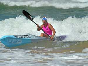 Youngsters looked at home against surf stars at Maroochy