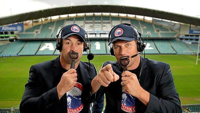 Bryan Fletcher and Nathan Hindmarsh aka Fletch and Hindy.