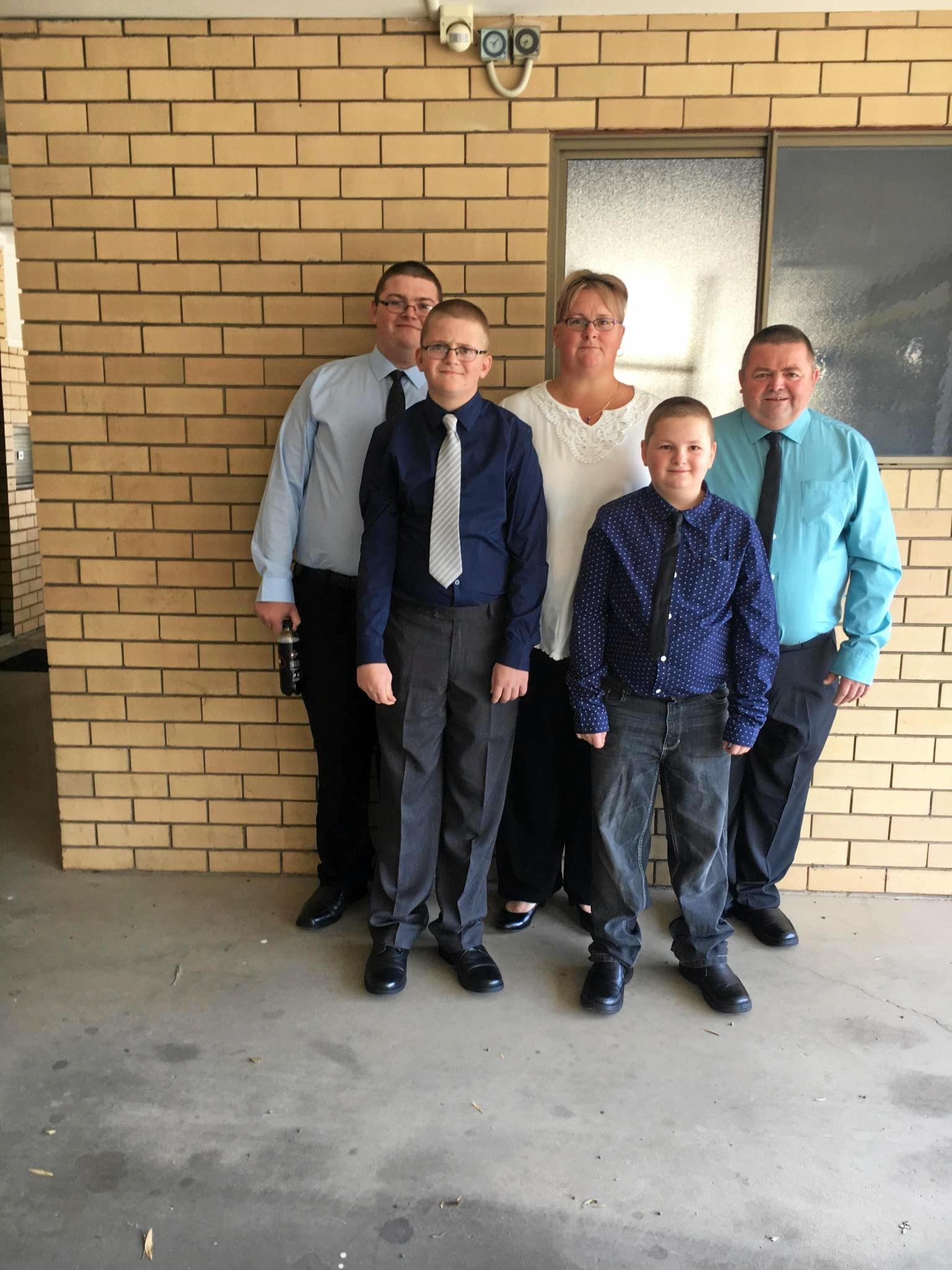 The Harvey Family.