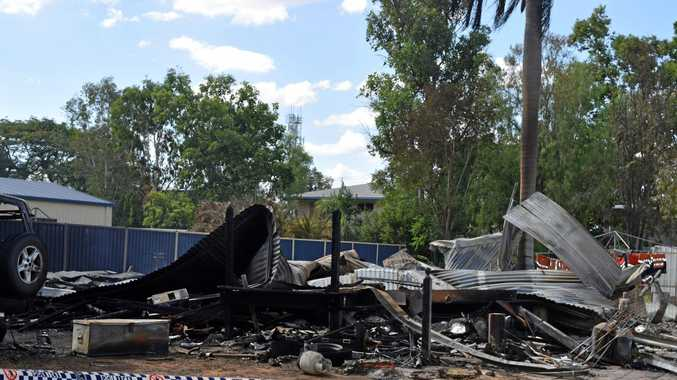 HOUSE FIRE: A family has lost everything after a fire gutted their home in Blackwater.