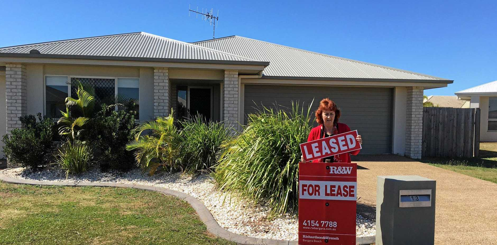 LOW VACANCIES: Le-Anne Allan says investors selling to owner-occupiers has significantly affected Bundaberg's rental market.