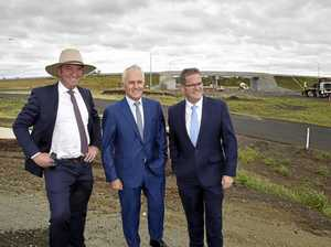 Malcolm Turnbull turns charm on Toowoomba