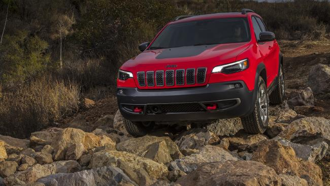 The Jeep Cherokee Trailhawk is coming soon as the spearhead to a massive new-model offensive.