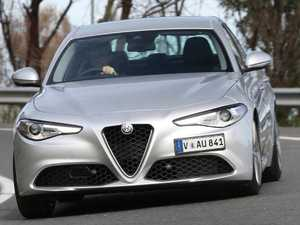 You'll get a buzz from the Alfa Romeo Giulia