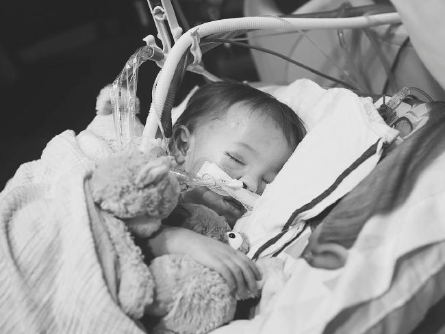 One in every 100 babies is born with CHD. Picture: Suha Dabit/World of Broken Hearts