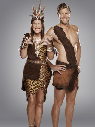 Dr. Chris Brown and Julia Morris are hosts on I'm A Celebrity Get Me Out Of Here. Picture: Channel 10