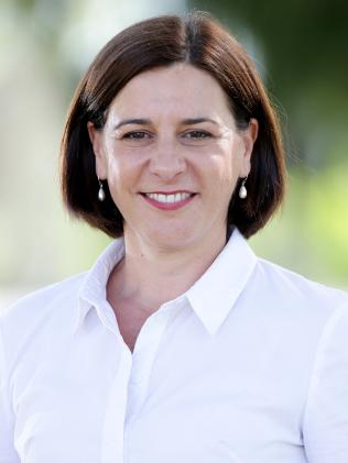 Opposition Leader Deb Frecklington has promised to fund compulsory swimming lessons in all Queensland primary schools. Picture: Ric Frearson
