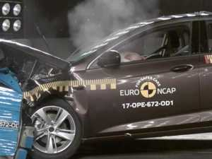 Our new German Holden Commodore crash tested