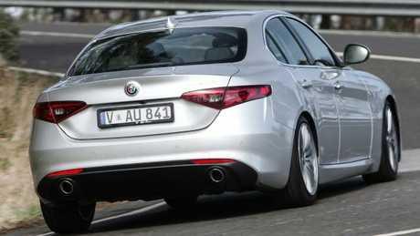 Giulia Super: Alfa claims class-leading rear passenger space.