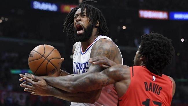 Los Angeles Clippers centre DeAndre Jordan could be on the move.