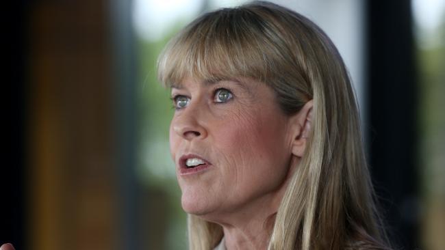 Terri Irwin. PICTURE: STEWART McLEAN