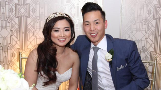 Wendy Lam and Ben Bui at their wedding reception.