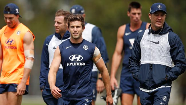 Marc Murphy is one of Carlton's many leaders.
