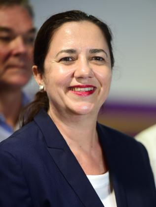"""Premier Annastacia Palaszczuk's office dodged support for the campaign, instead saying the Government would """"look at all options to improve water safety in Queensland""""."""