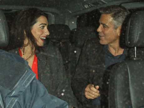 The couple were photographed on a date in London in October, 2013. Picture by: Rex Features/Splash News