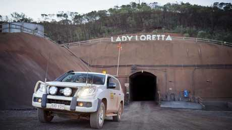 The Lady Loretta mine, 140km northwest of Mt Isa.