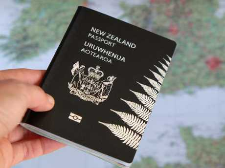 New Zealand's black passport has the added benefit of being one of the few passports that doesn't get easily marked or dirty. Smart AND stylish.