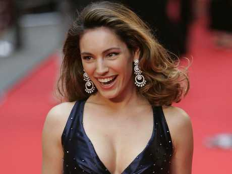 British model Kelly Brook was a former grid girl. Picture: Supplied