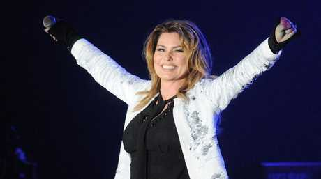 Shania Twain on stage in October last year. Pic: Getty Images