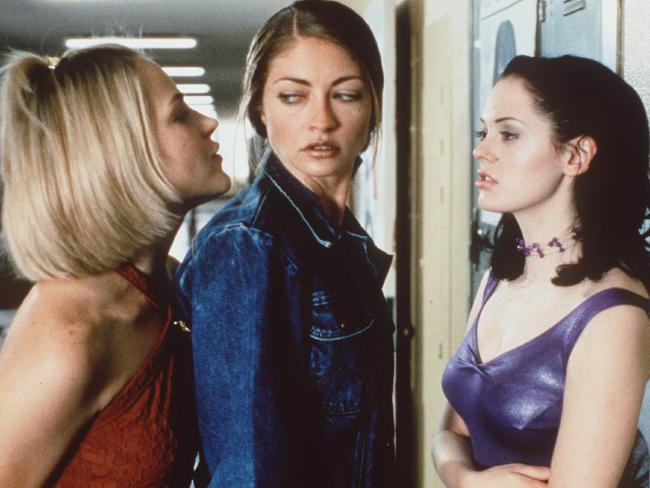 McGowan (right) in Jawbreaker.