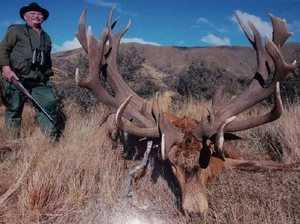 Big game hunter shot dead while lining up lion