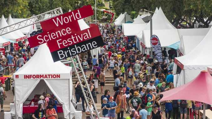 The World Science Festival Brisbane is jam-packed with fun events.