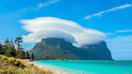 Lord Howe Island, 600km off the coast of New South Wales, in October 2015.