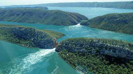 The Horizontal Falls, The Kimberley, Western Australia Photo Contributed