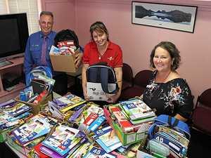 Families' back to school burden eased