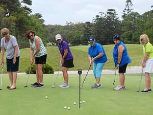 Ladies enjoy a fun start to golf at Coffs