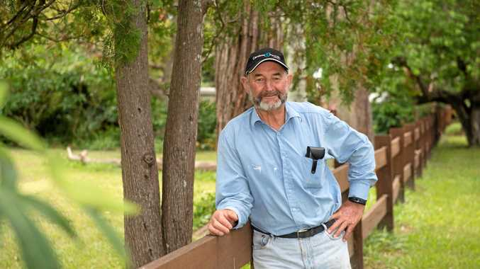 AGAINST PARK: Raleigh's Ted Vaughan is against the Great Koala National Park.