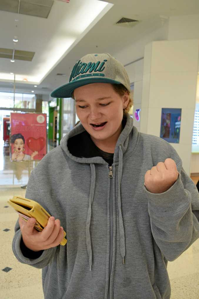 NOT ON: Telstra customer Hailley Brown-Heinemann wasn't happy with the outage last weekend.