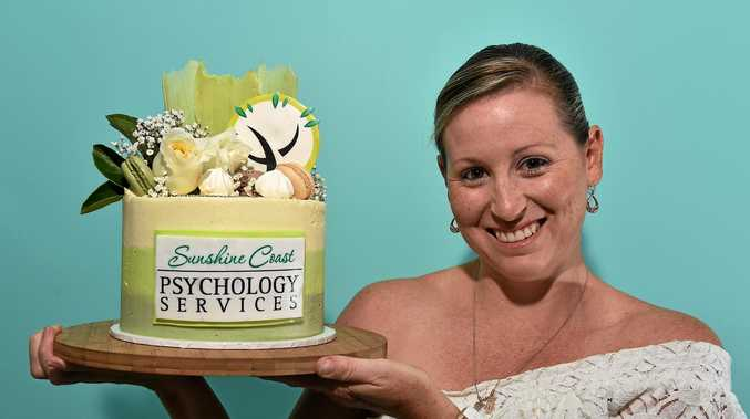 SWEET CHANGE: Buderim mum Beck Jericho has made a sweet career change from primary school teacher to cake creator.