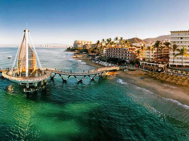 This is how good it can look in an aerial view of Puerto Vallarta in Mexico.