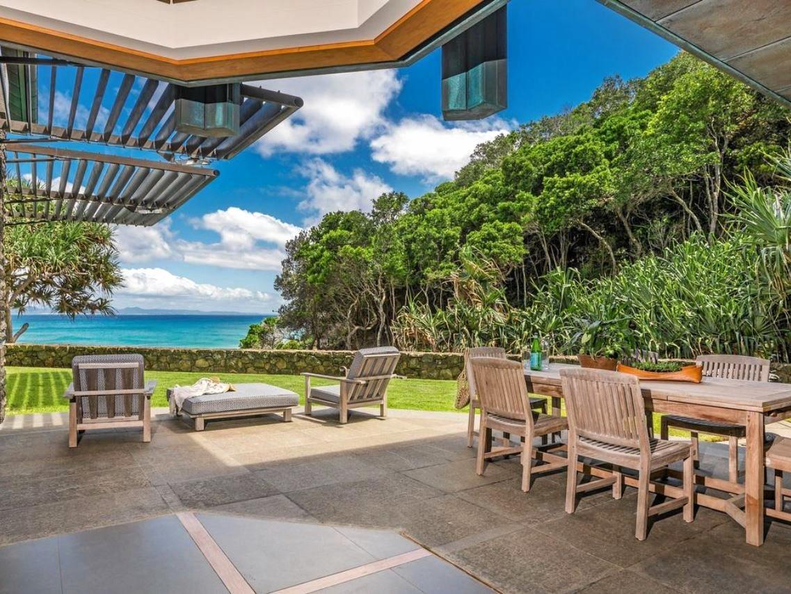 Australia's most easterly beachfront home.