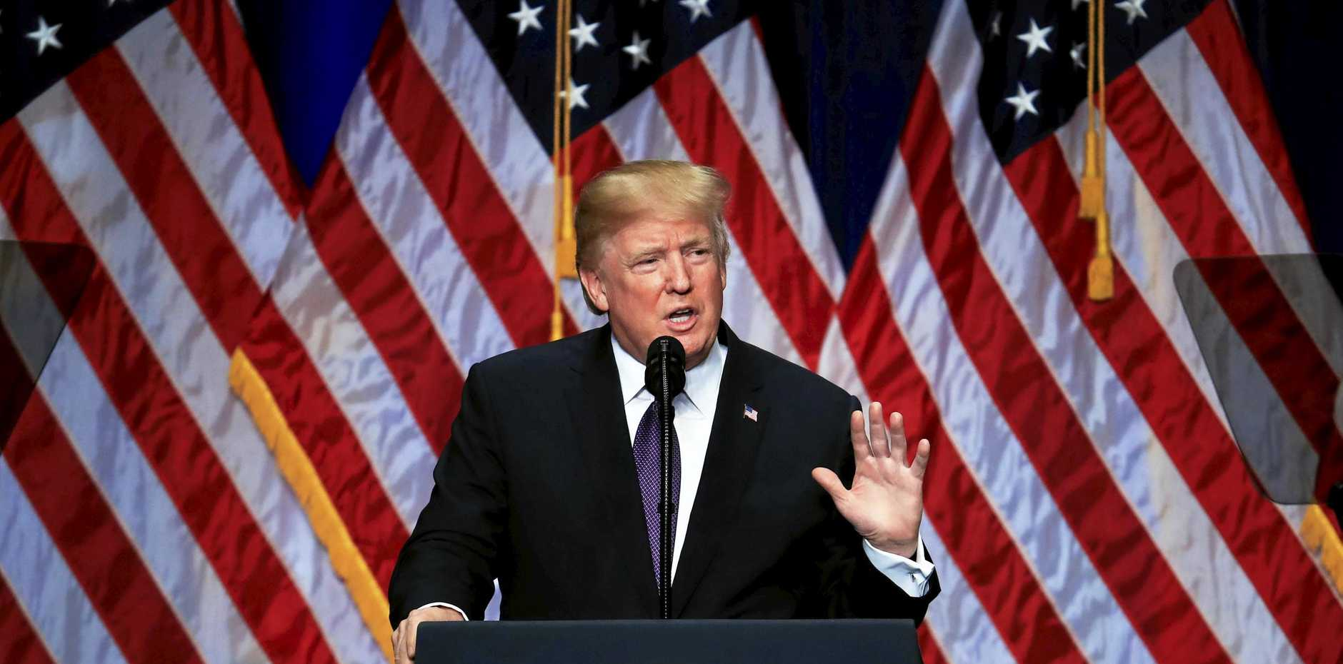 US President Donald Trump's comments on climate change have again been criticised by scientists.