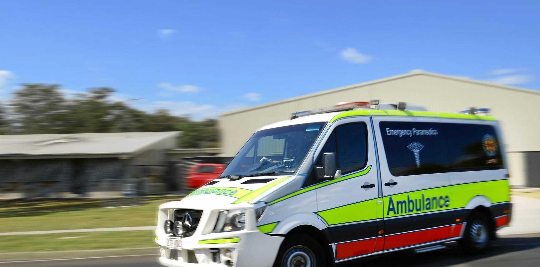 Queensland Ambulance Service was on scene.