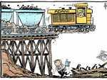 Federal ALP rails against Adani and CQ coal jobs