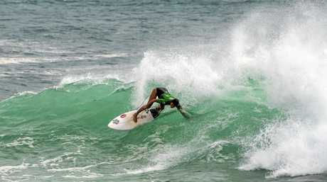 Cody Klein on day two of the Tweed Coast Pro.