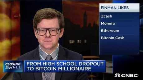 """I can proudly say I made it, and I'm not going to college,"" he told CNBC."