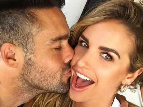 Vogue Williams and Spencer Matthews. Picture: @voguewilliams/Instagram