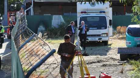 A fresh lead has sparked the dig. Picture: Dylan Coker/ News Corp Australia.