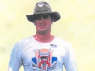 A supplied, undated image of alleged murder victim Robert Grayson.