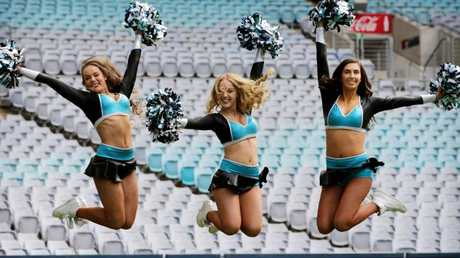 Cheerleaders could be banned. Picture: Toby Zerna